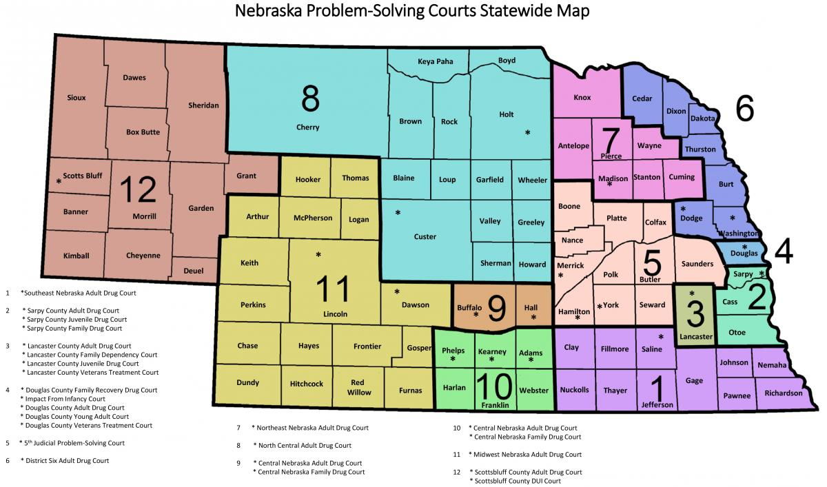 Map Of New York Judicial Districts.District Court Nebraska Judicial Branch