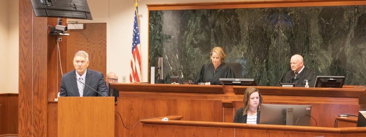 DUI Court ceremony