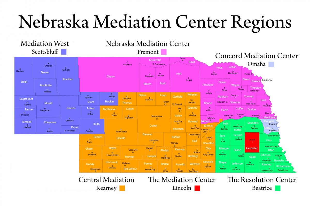 ODR-Approved Mediation Centers | Nebraska Judicial Branch