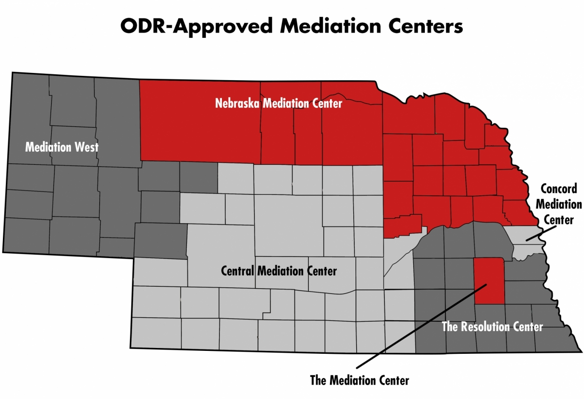 Mediation Center Map