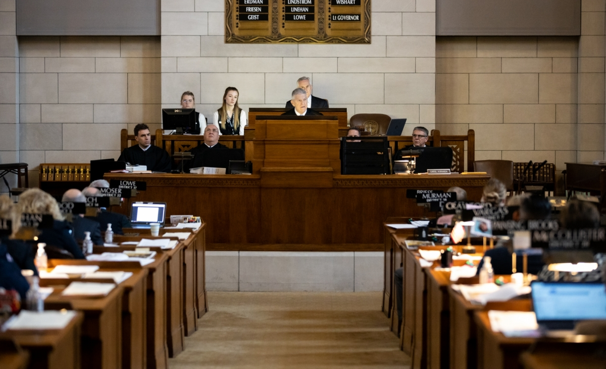 Chief justice addresses legislature