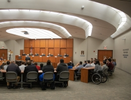Creighton courtroom