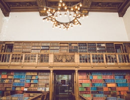 Nebraska State Library Interior
