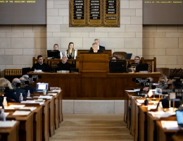 Chief justice addresses legislature