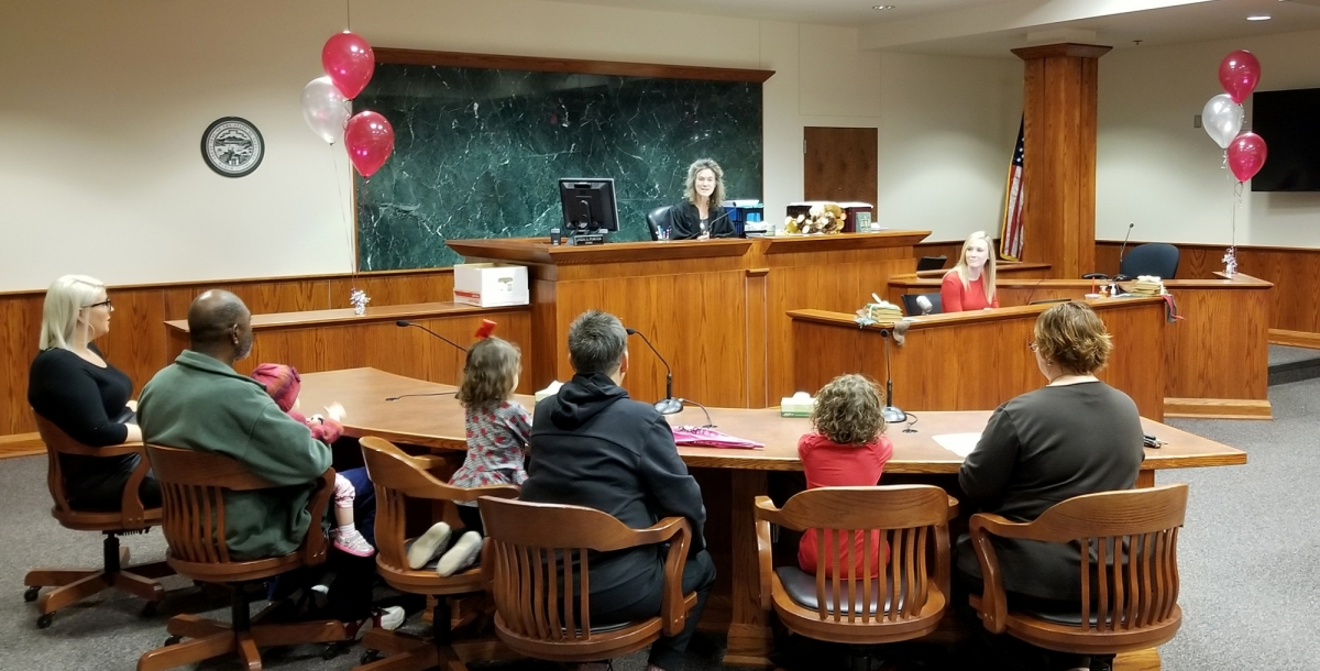 Adoption Day Courtroom
