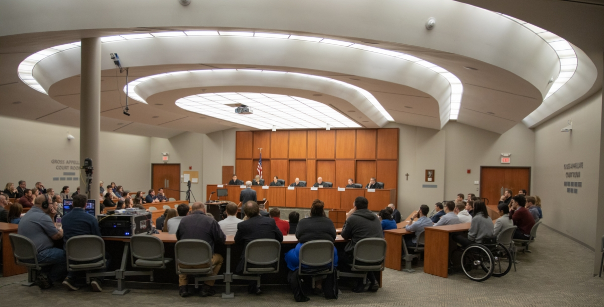 Creighton courtroom