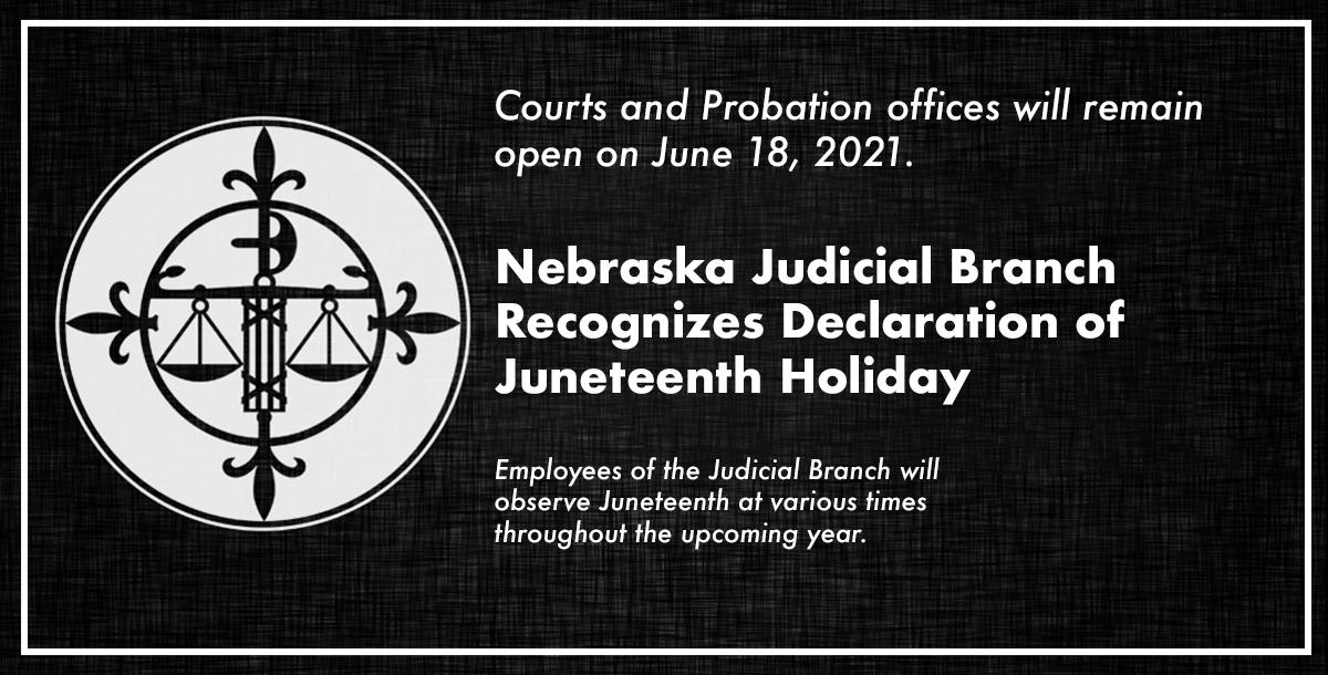 Juneteenth announcement