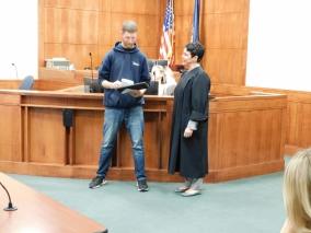 Reentry court graduation