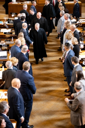 Chief justice departing legislature