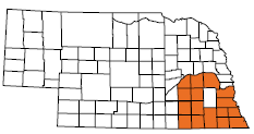 Counties served by The Resolution Center